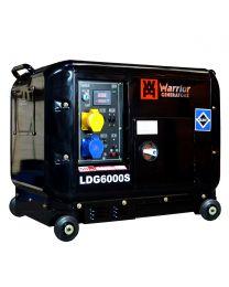Stromerzeuger Warrior 5000W Silent Diesel Generator