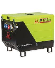 Stromerzeuger PRAMAC P 12000 HONDA 3 Phasen