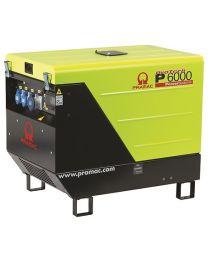 Stromerzeuger PRAMAC P 6000 YANMAR 3 el