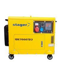 Stromerzeuger YORKING YDE7000TD3
