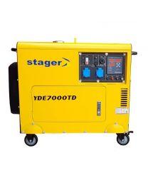 Stromerzeuger YORKING YDE7000TD