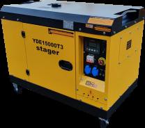 Stromerzeuger YORKING YDE 15000 T3