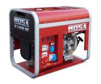 Tragbarer Stromerzeuger MOSA GES 6500 YDT