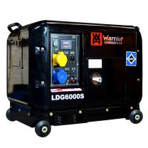 Stromerzeuger Warrior 5500W Silent Diesel Generator