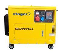 Stromerzeuger YORKING YDE 7000 TD3